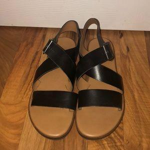 Black Franco Sarto sandals